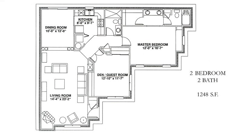 Independent Living Cottage Floor Plans Windsor Point Fuquay Varina Nc